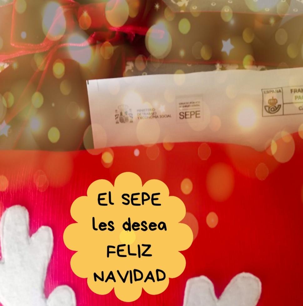 El SEPE les desea Feliz Navidad